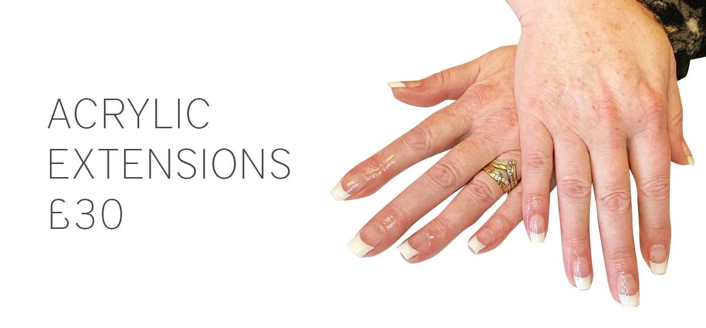 Acrylic nails 1